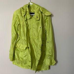 Hurley waterproof rain coat